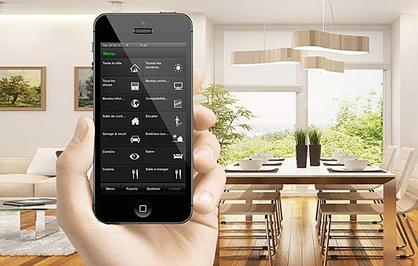 01 domotique objets connectes iphone android installation electrique services - Objets connectes domotique ...